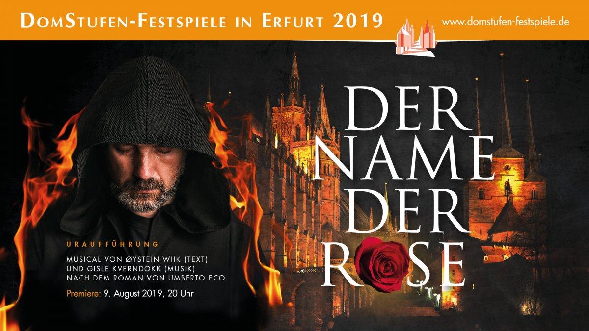 Bildergebnis für erfurt domstufenfestspiele der name der rose