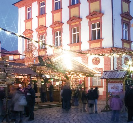 Christkindlesmarkt in Bayreuth © © Bayreuth Marketing & Tourismus GmbH/S. Gleisberg