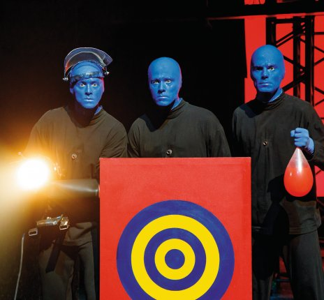 Blue Man Group Berlin - NEUE SHOW © Stage Entertainment/Morris Mac Matzen