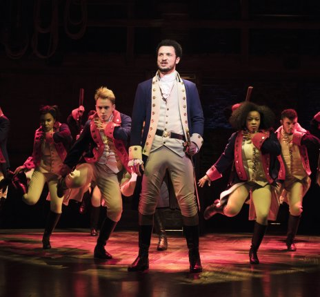 Hamilton © Matthew Murphy/Stage Entertainment