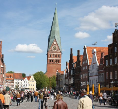 Platz am Sande in Lüneburg © Lüneburg Marketing GmbH